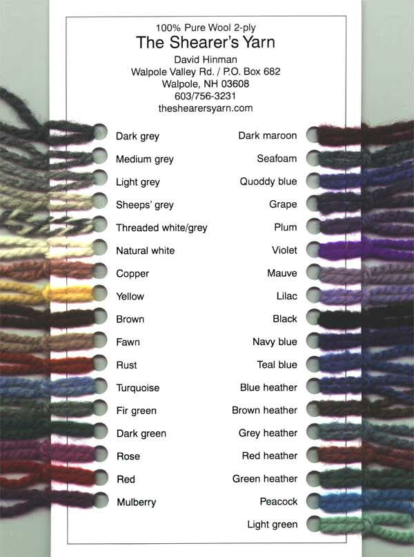 Yarns The Shearer S Yarn
